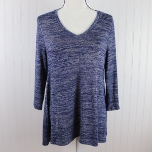 Sonoma V Neck Knit Tunic Size Medium
